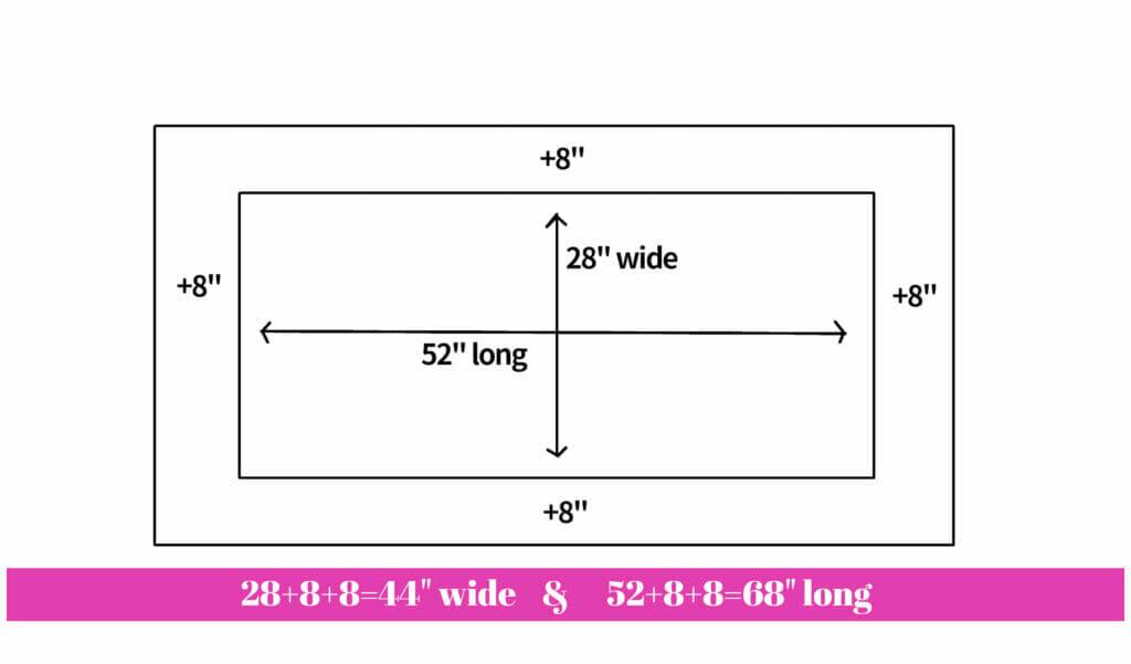 DIY crib sheet tutorial