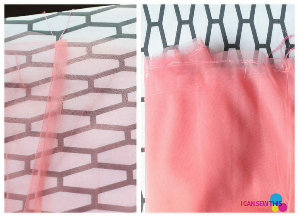 basting tulle fabric