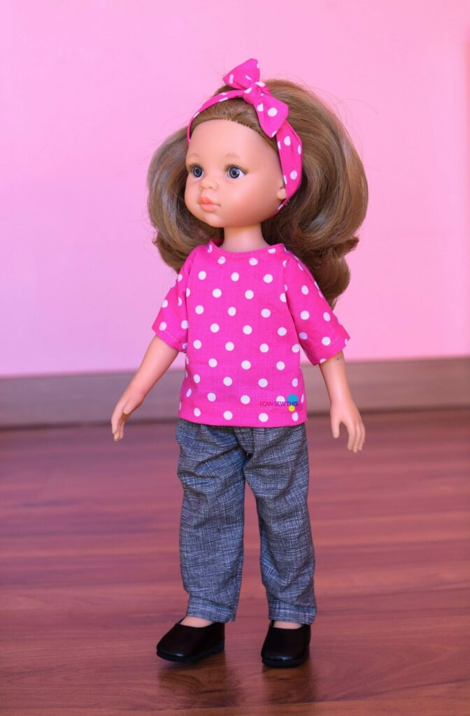 simple top for 12-inch and 13-inch Paola Reina dolls