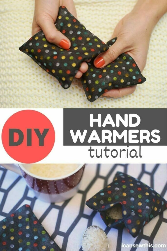 How to make reusable hand warmers