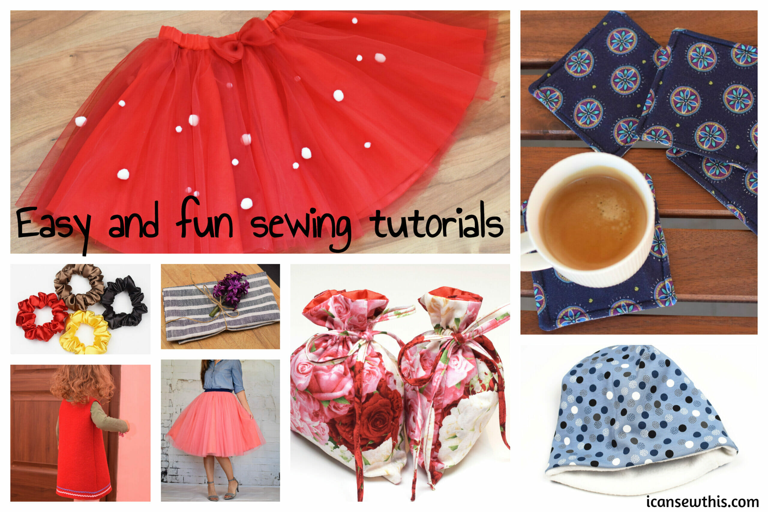 Easy and fun sewing tutorials
