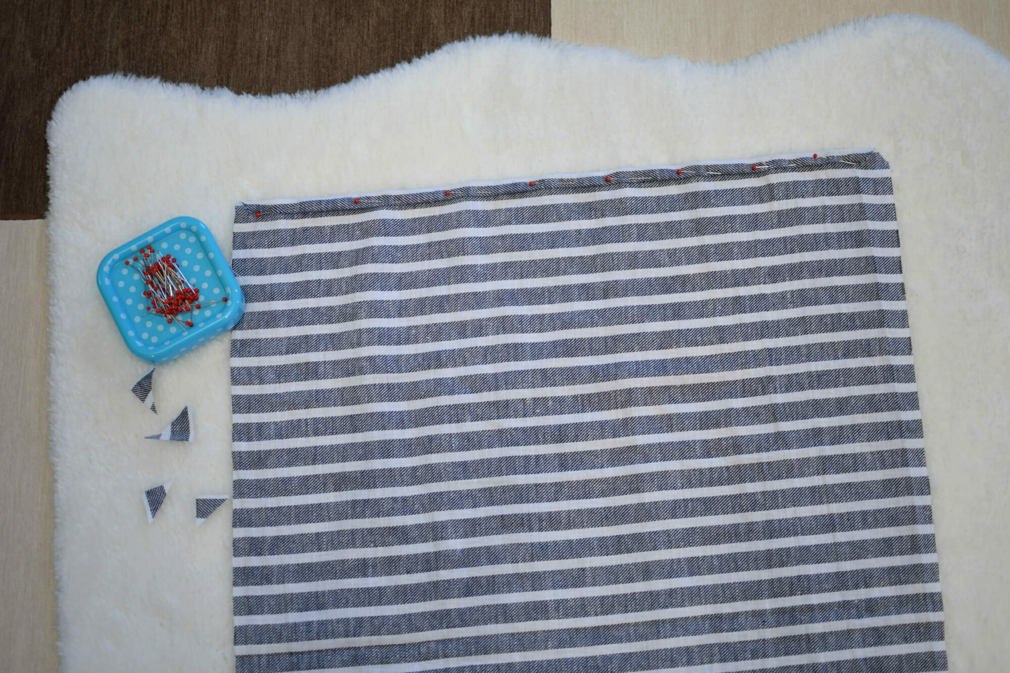 How To Make Linen Napkins The Easy Way I Can Sew This