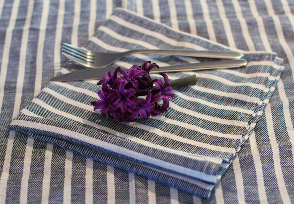 How to make DIY cloth napkins