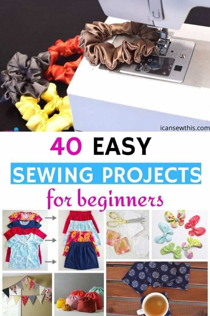 40 easy sewing projects for beginners
