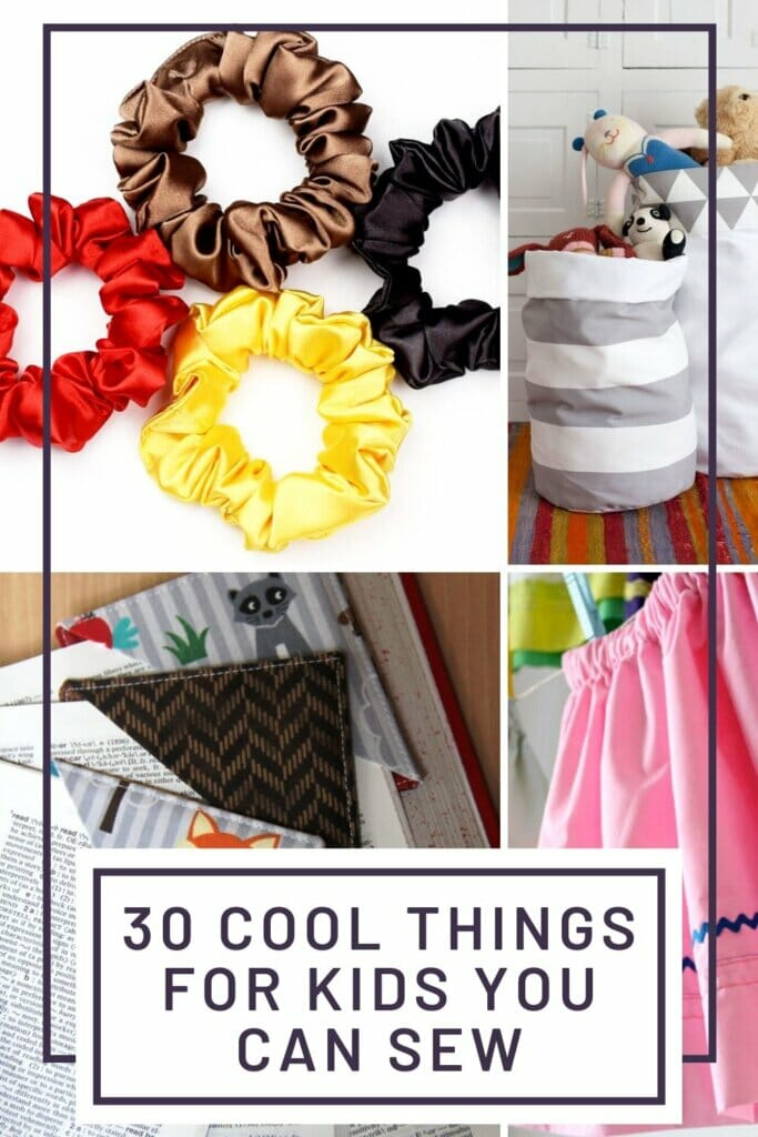 30 cool things for kids you can sew