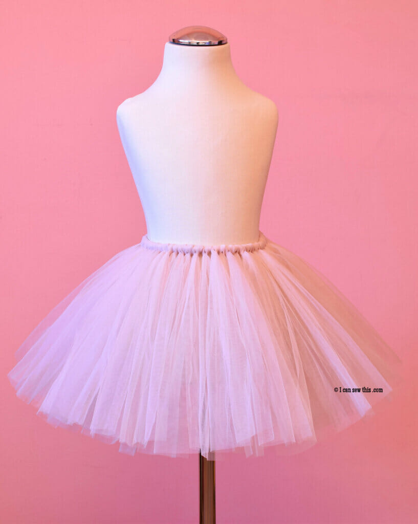 How to make a DIY fluffy tutu skirt