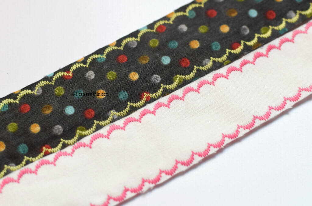 How to make easy fabric bookmarks