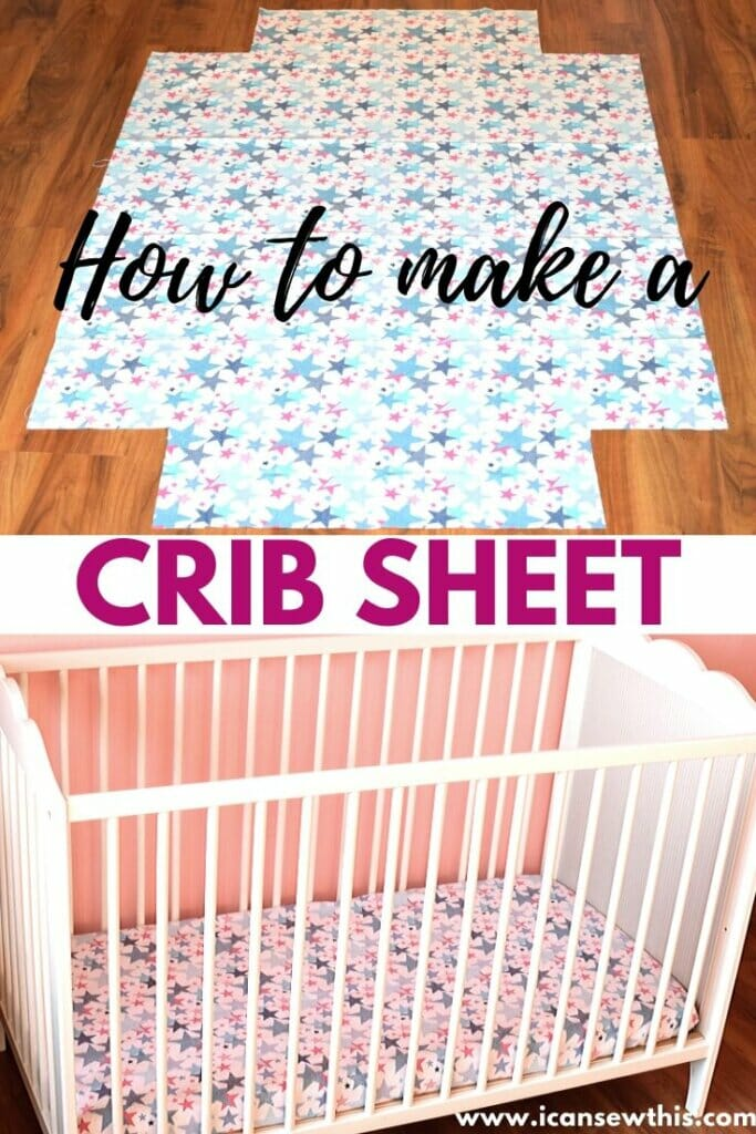 how to make a fitted crib sheet for baby