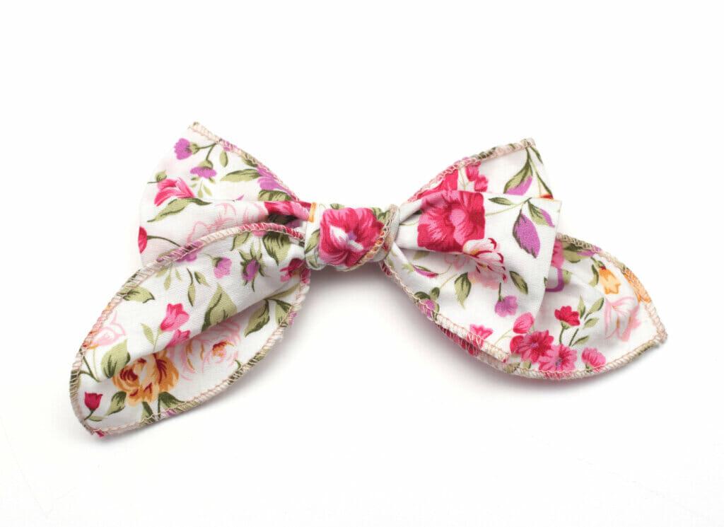 cotton hair bow