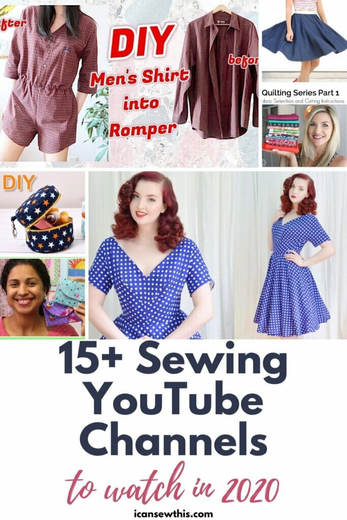 15+ Sewing YouTube Channels to Watch in 2020