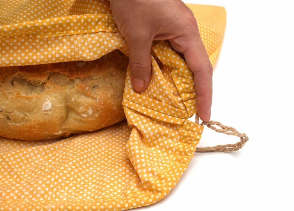 How to make - easy DIY drawstring bag