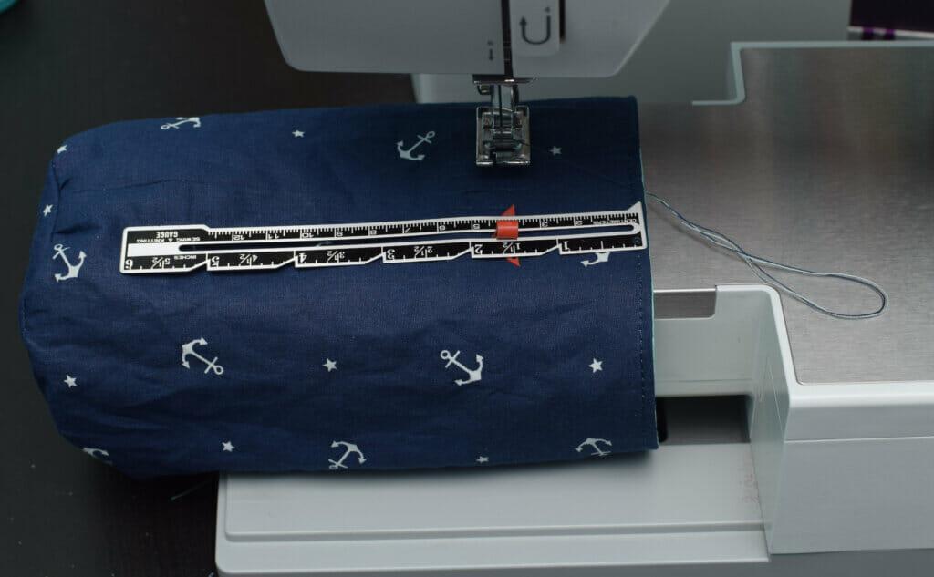 free arm, sewing macgine, sewing gauge