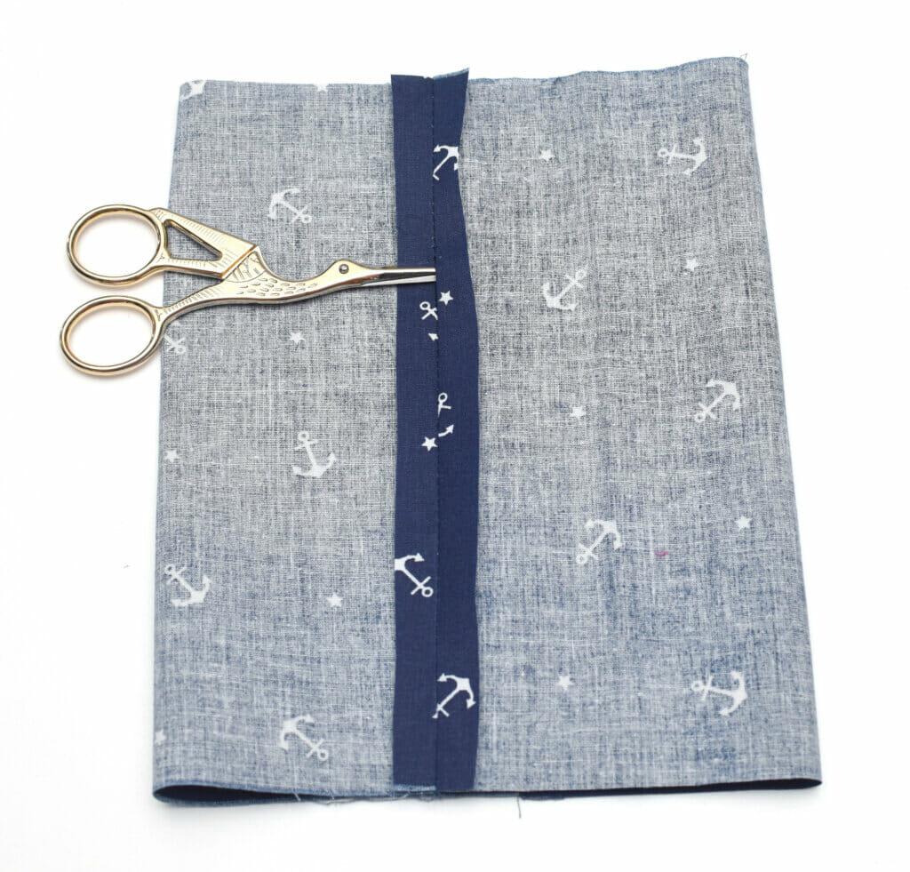 scissors, fabric