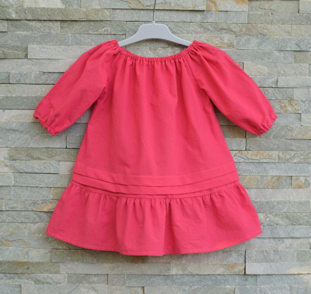 free long sleeve peasant dress pattern