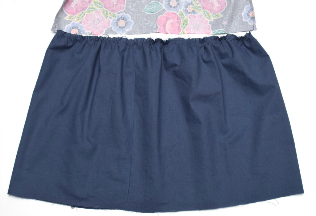 gathering cotton skirt