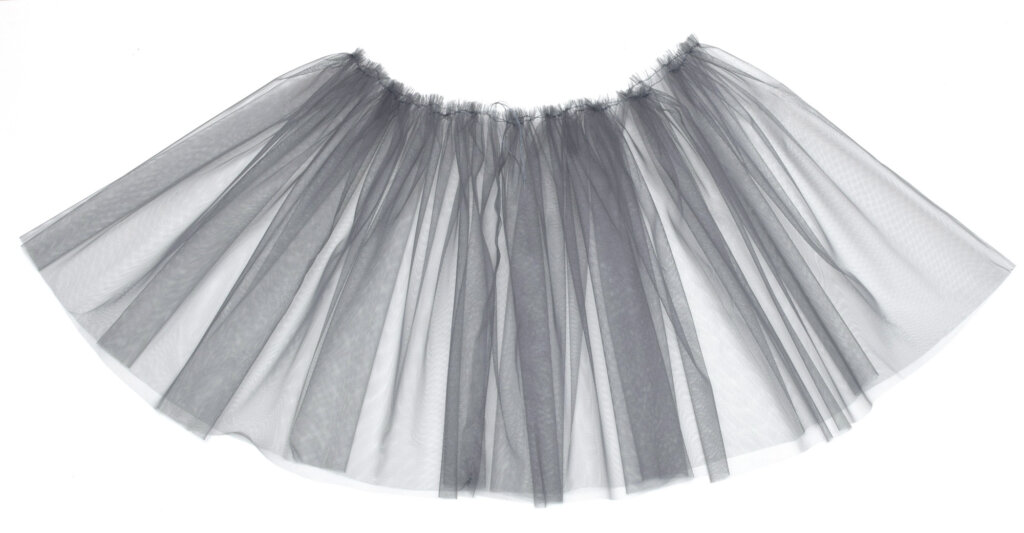 gathering tulle layer