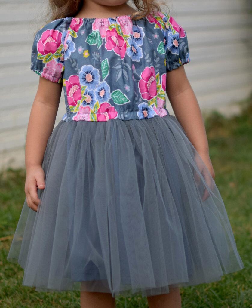 DIY princess tulle dress free pattern