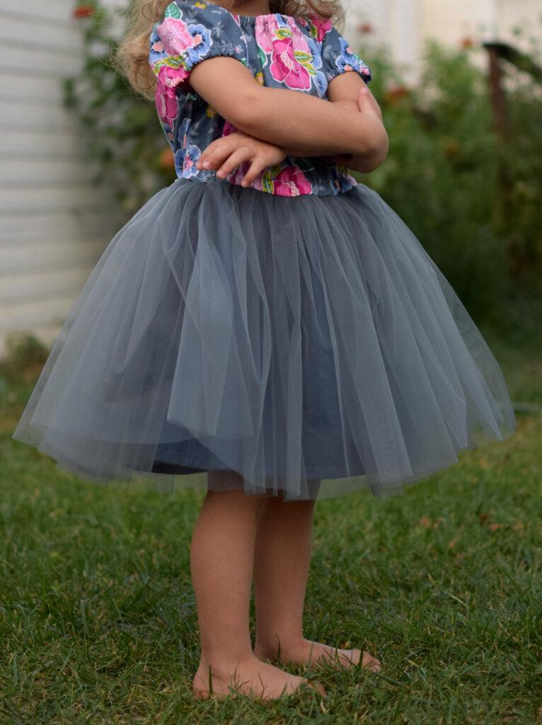 Free princess tulle dress pattern