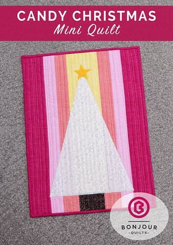 Candy Christmas Mini Quilt