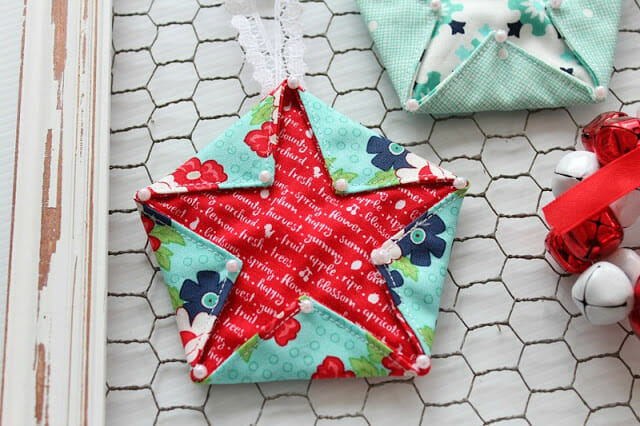 Fabric Star Hangers