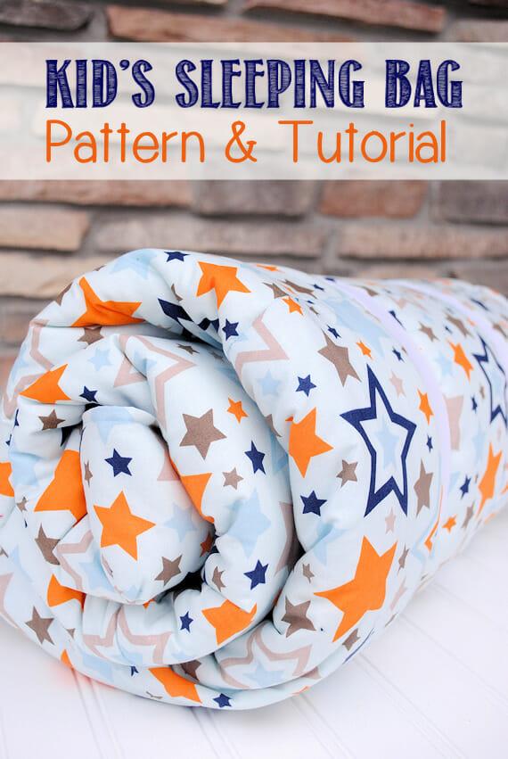 Kid's Sleeping Bag Pattern