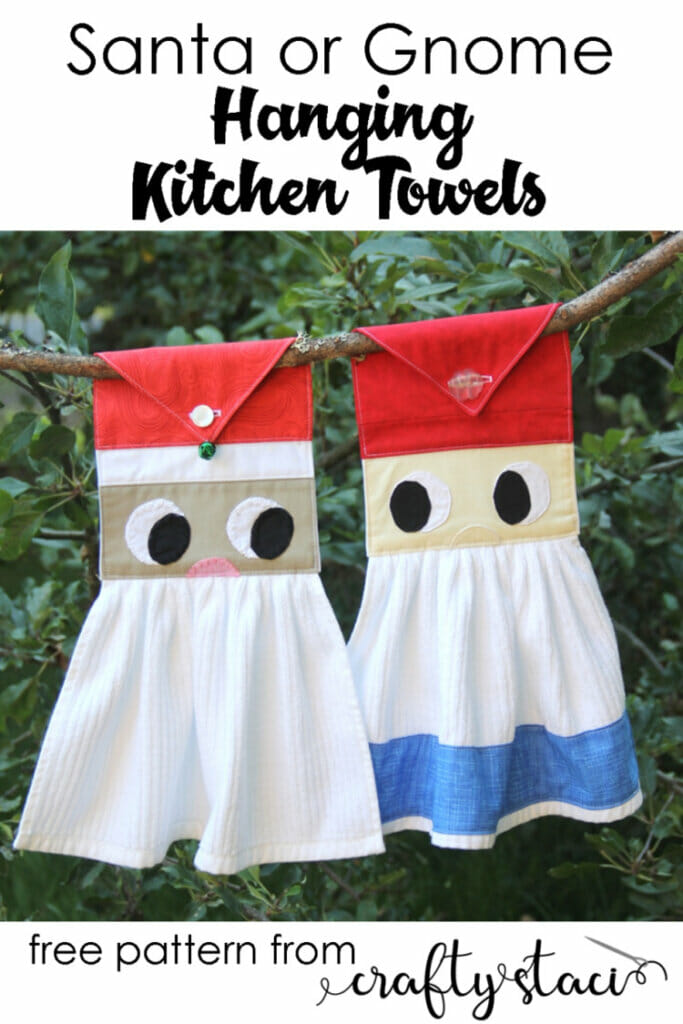 Gnome Hanging Kitchen Towels