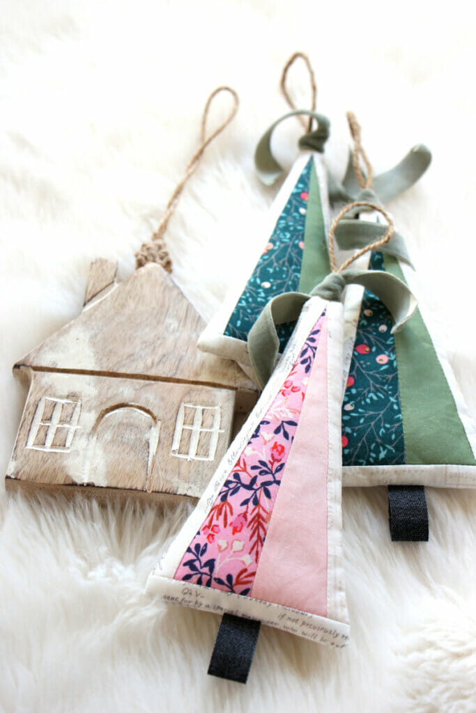 free Christmas sewing project, diy Ornament