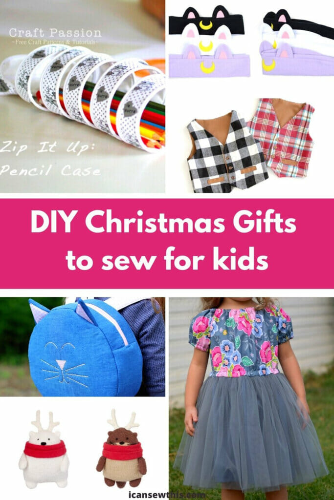 DIY Christmas Gifts To Sew For Kids