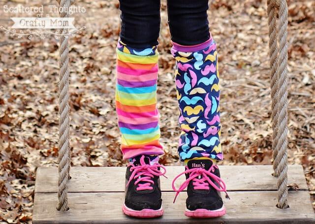 DIY leg warmers tutorial