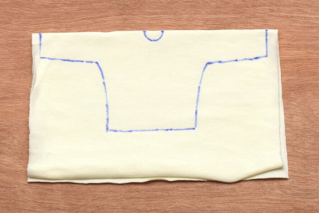 tracing doll bodice pattern