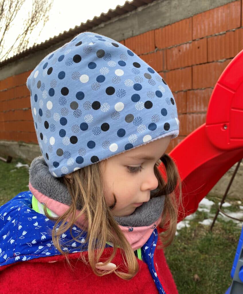 fleece lined beanie hat sewing pattern