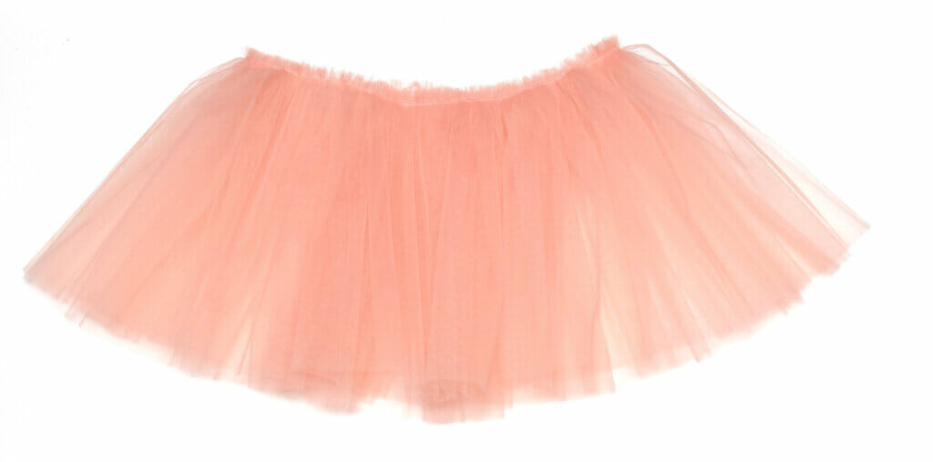 sew the tulle layers together