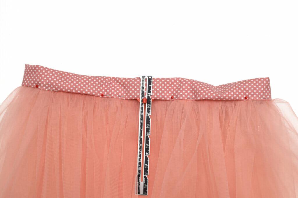 sew the waistband