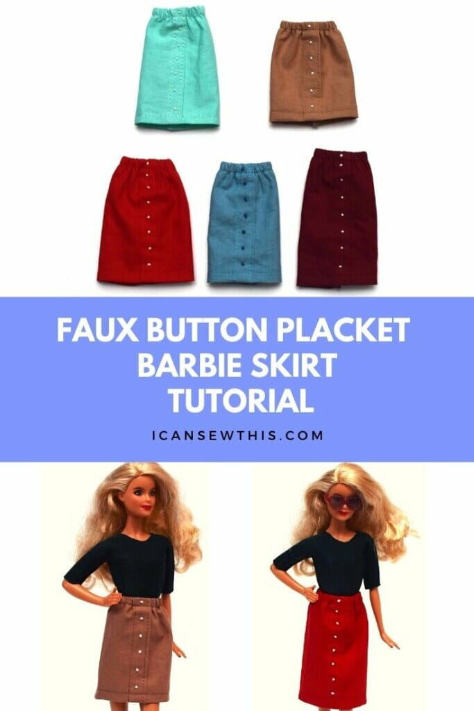 Barbie skirts tutorial