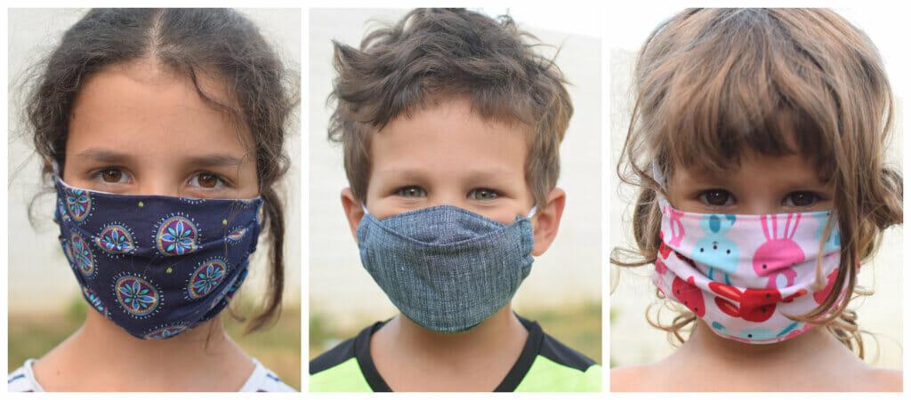 children face masks sewing patterns and tutorials