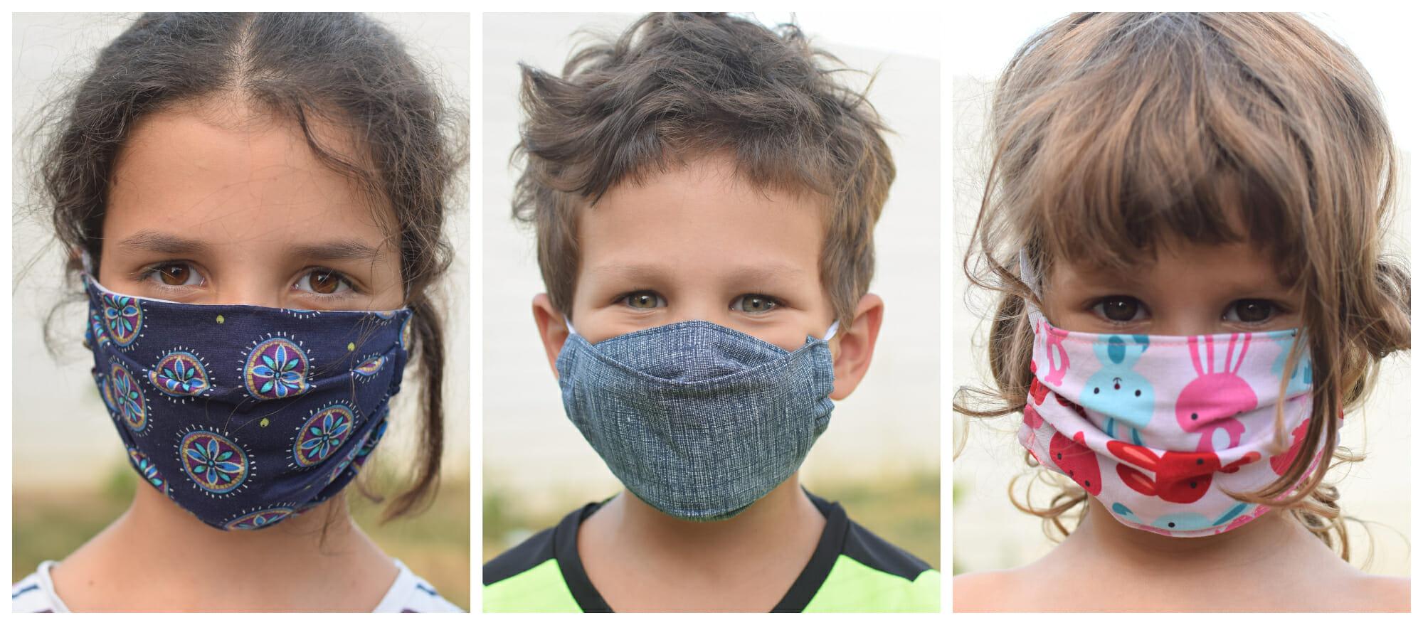 Diy Kids Face Masks 10 Free Sewing