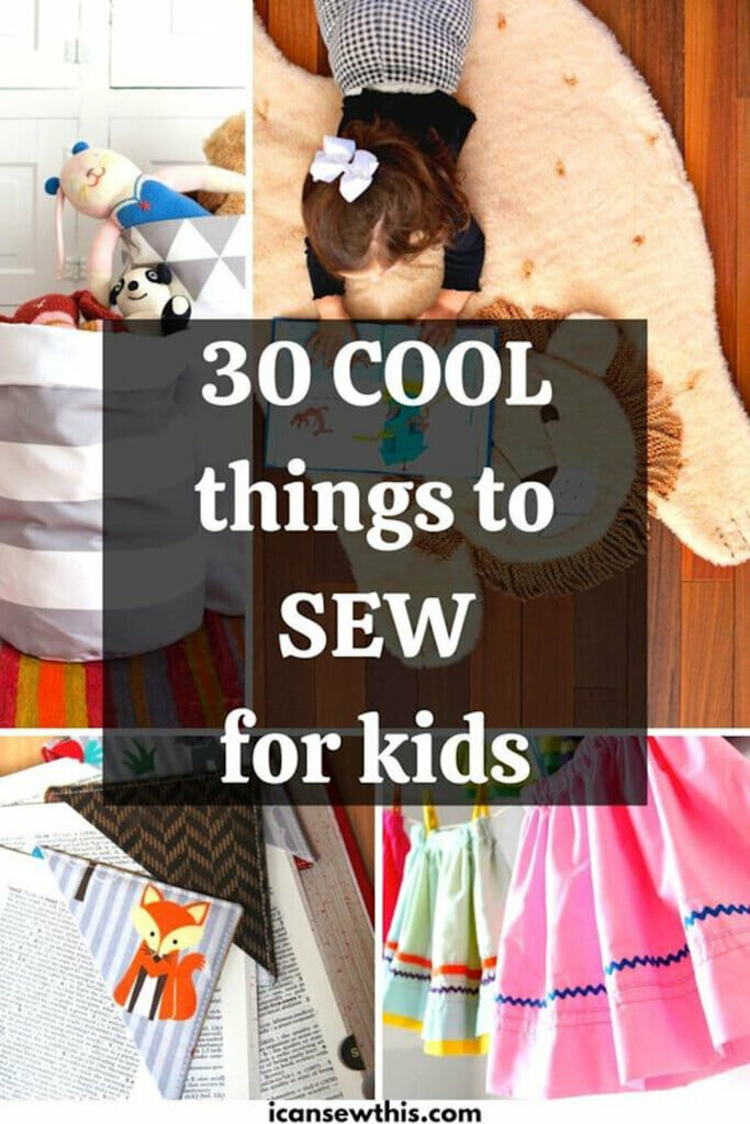 cool things for kids you can sew