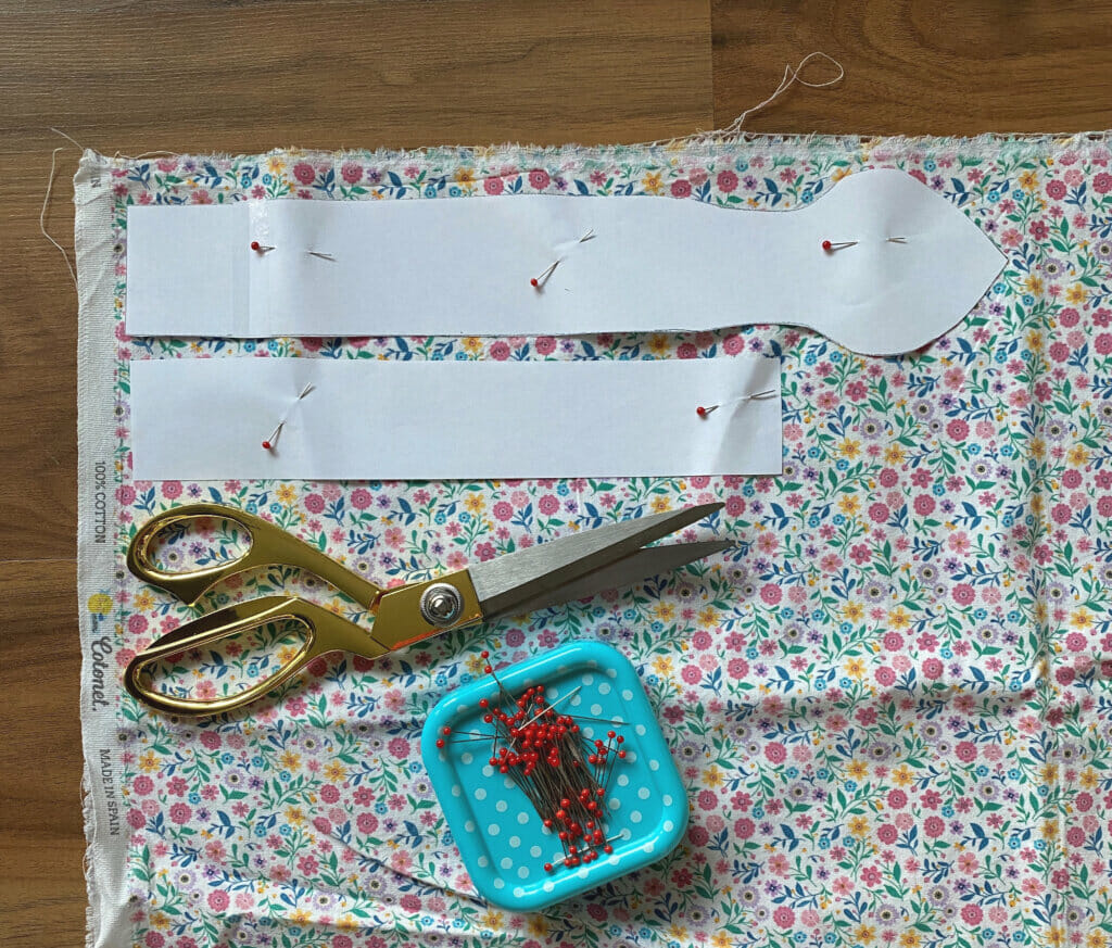 Cut the fabric pieces