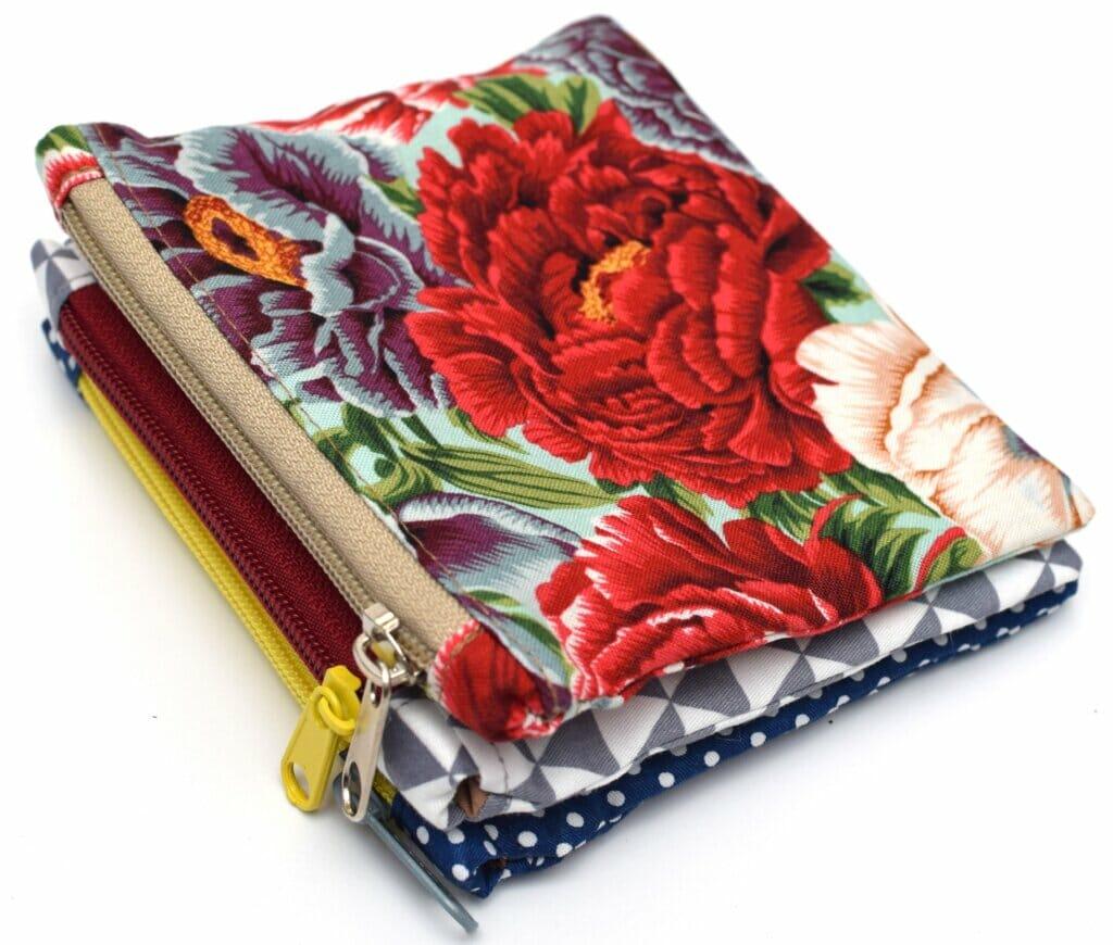 small zipper pouches DIY