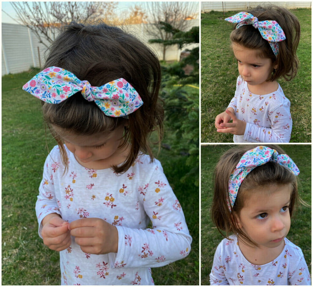 fabric knotted headband