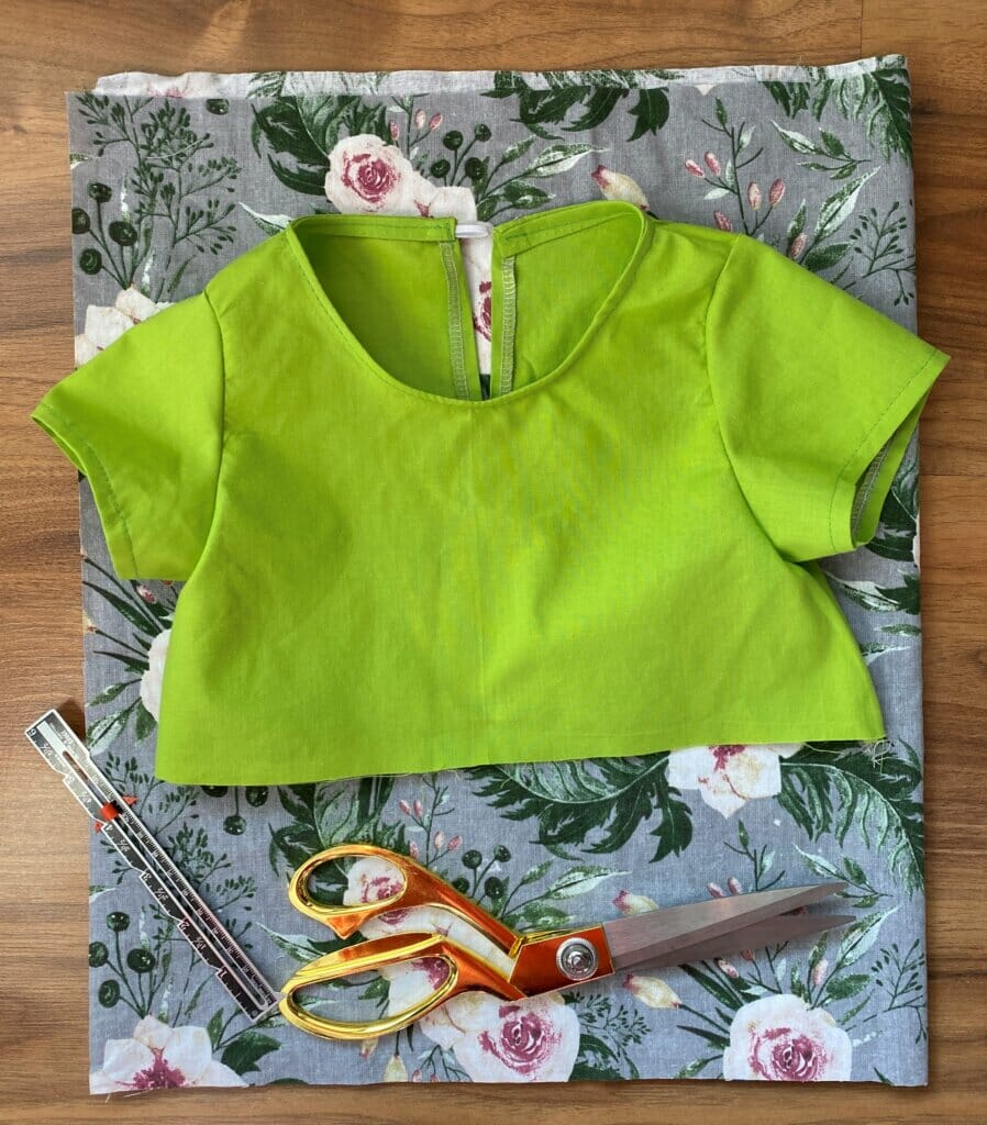 gathered girls dress sewing tutorial