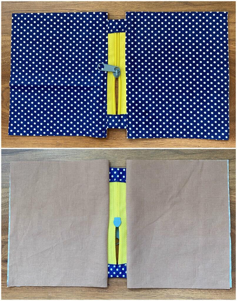 zipper pouch tutorial instructions