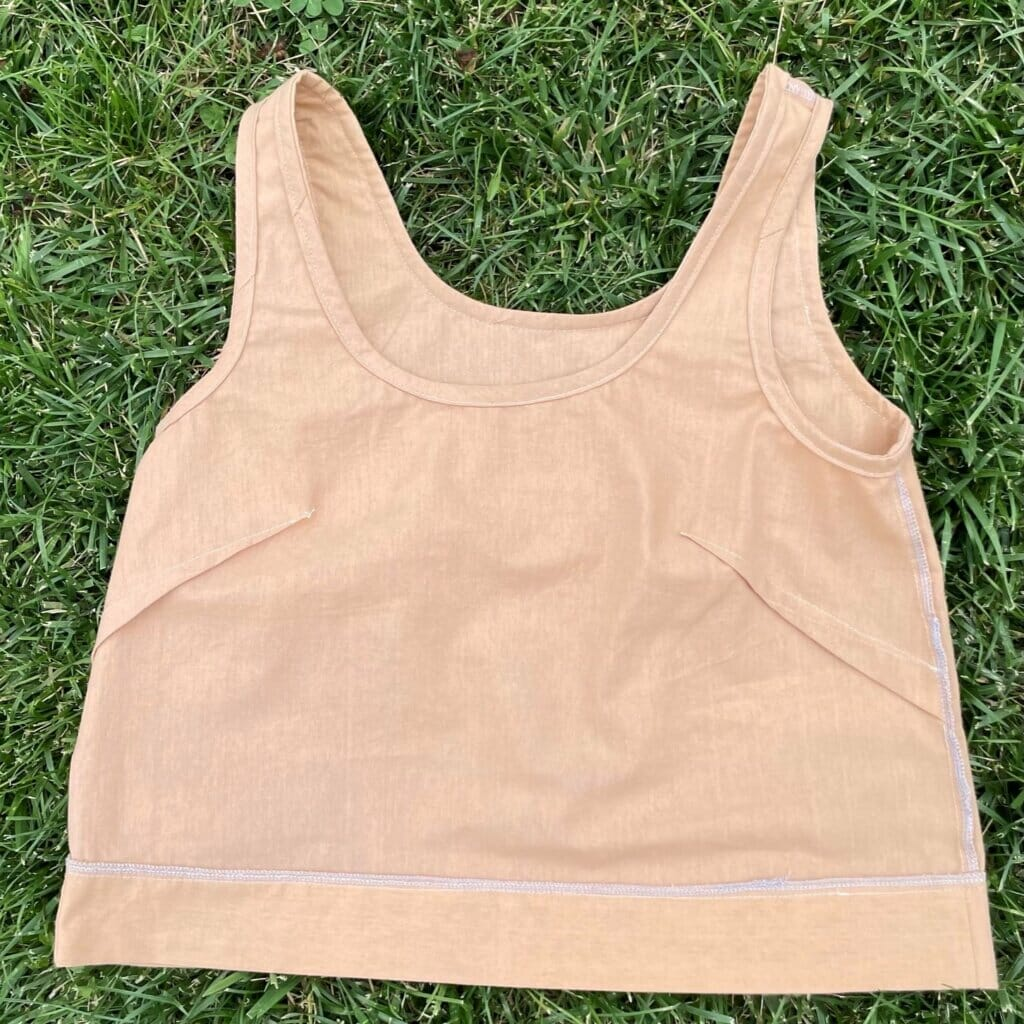 DIUY simple top inside out
