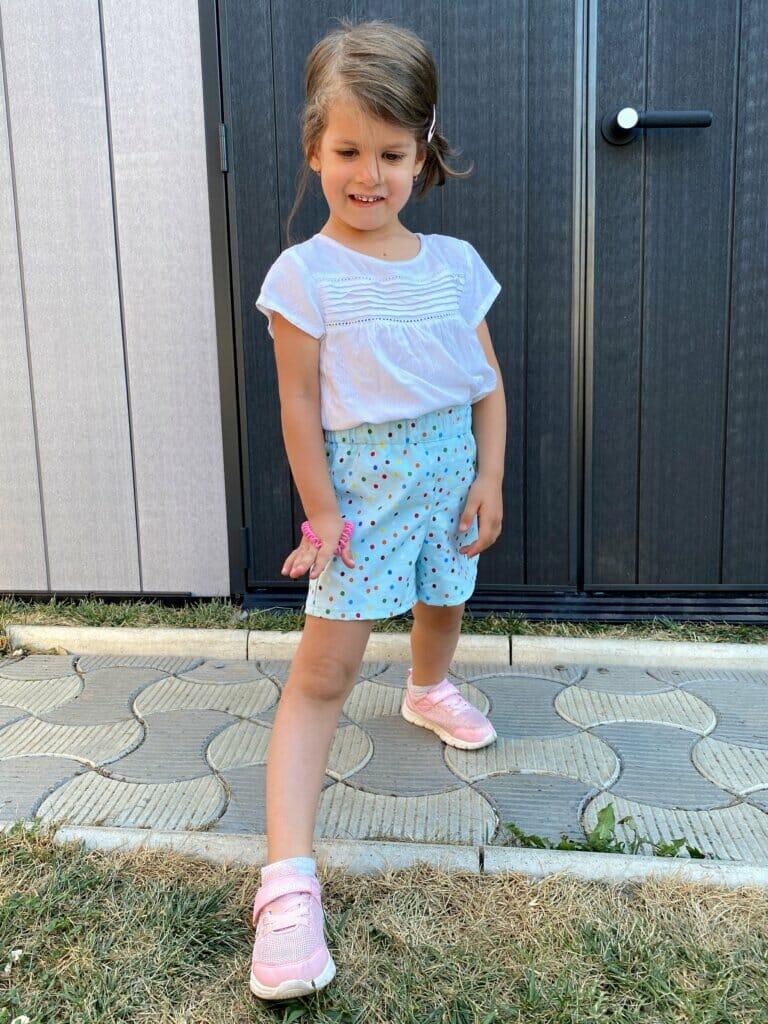 DIY kids shorts tutorial