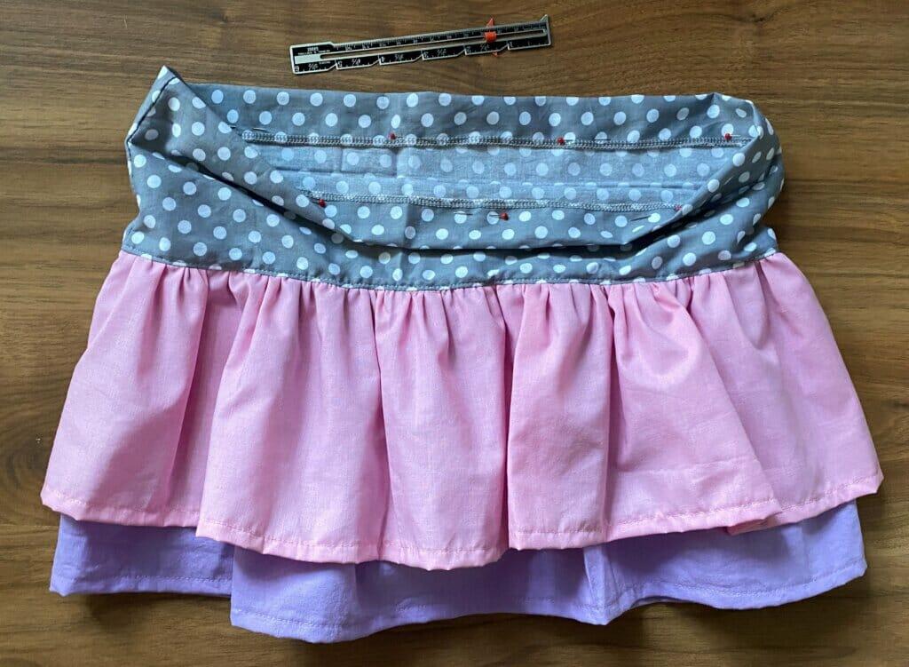 make the waistband casing