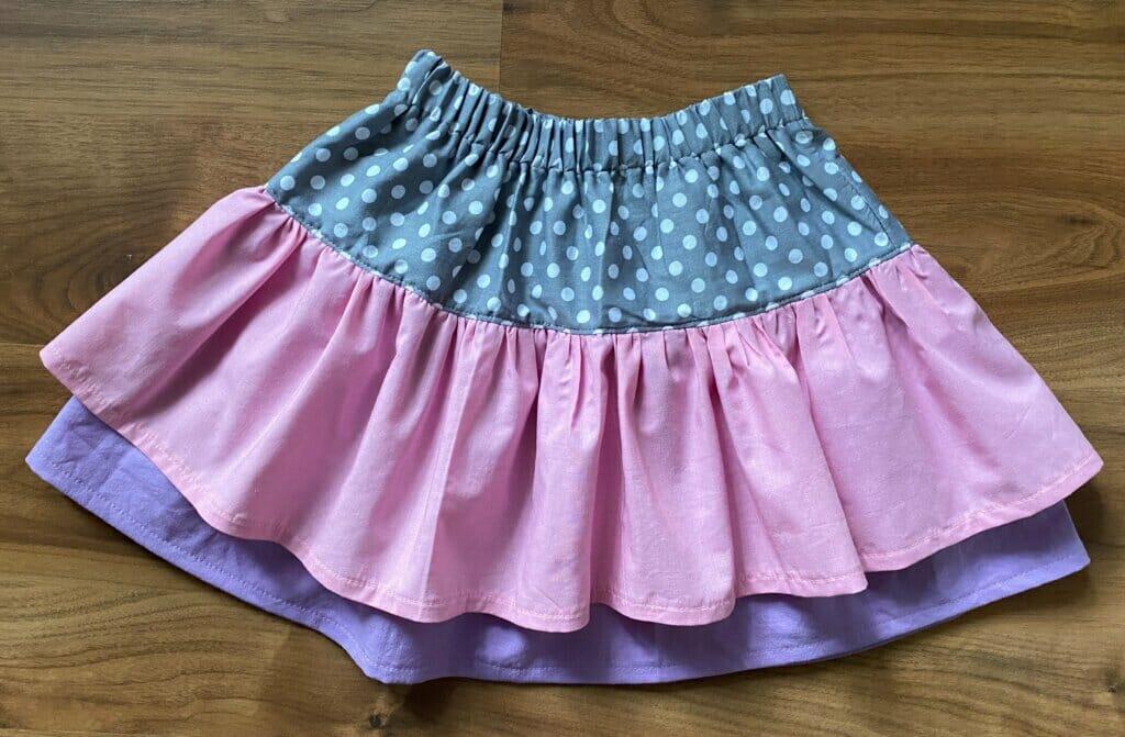 free ruffle skirt pattern and tutorial