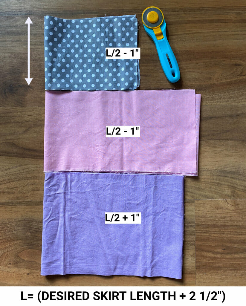 ruffle skirt pattern