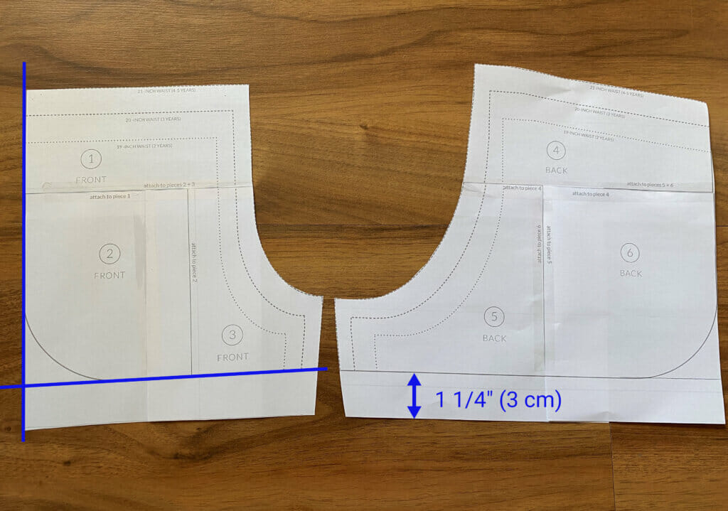 alter sewing pattern