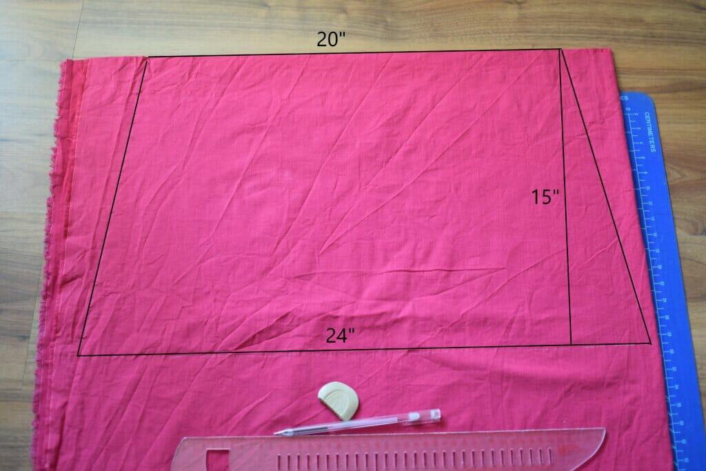 tiered ruffle skirt free pattern