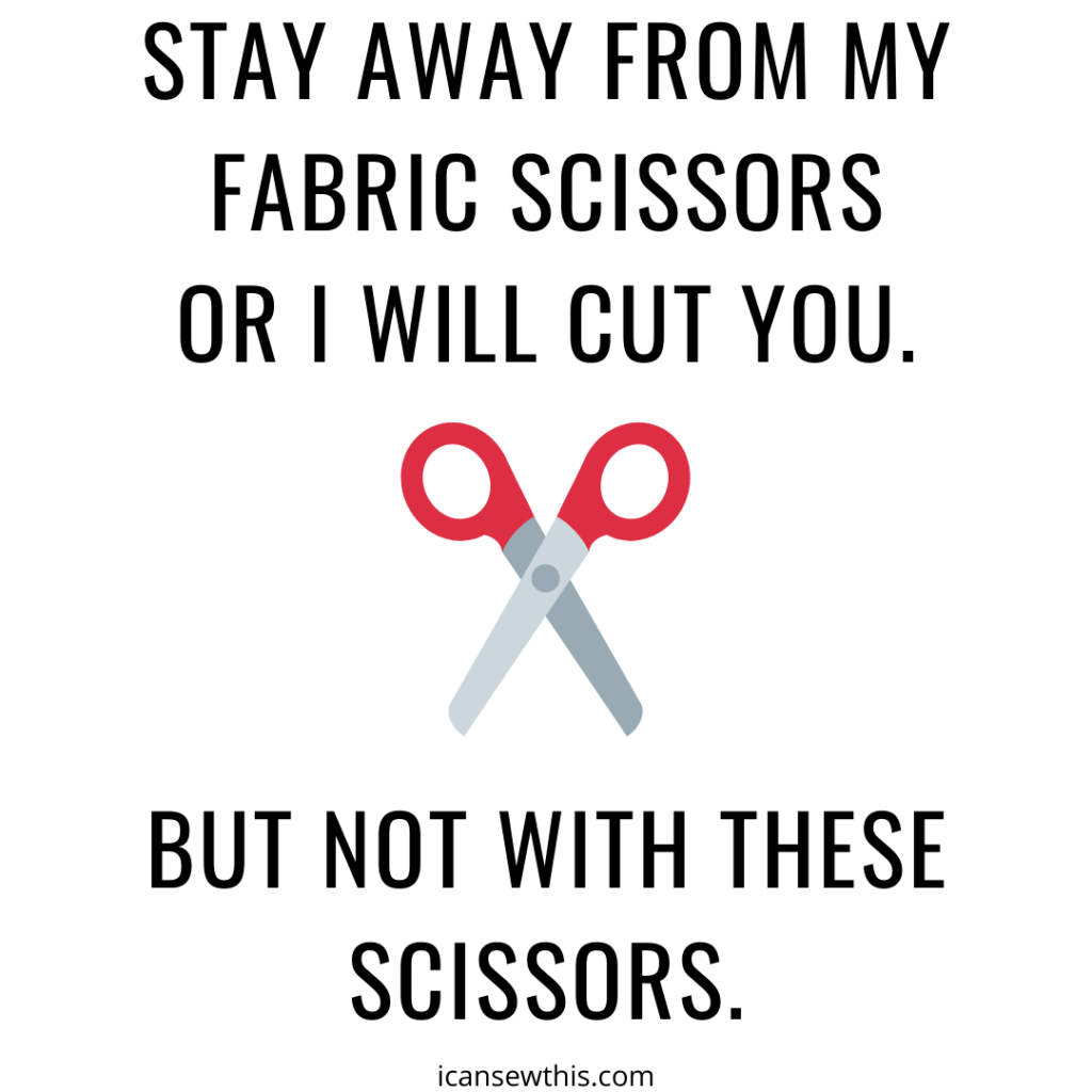 But not with these scissors